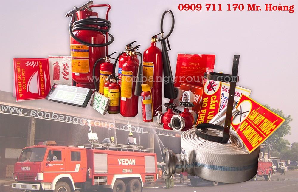 Bán bình cứu hỏa kèm các thiết bị chữa cháy giá rẻ tại Thủ Đức, Quận 9, Dĩ An, Thuận An, Bình Thạnh, Quận 1, Quận 2, Q12, Gò Vấp, Tân Bình, Củ Chi, Bình Chánh TP.HCM 1