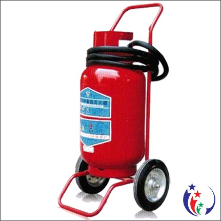 Bình chữa cháy bột khô ABC MFZL35 - 35kg loại xe đẩy