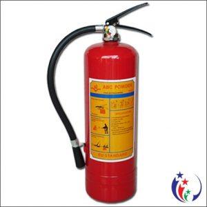 Bình chữa cháy dạng bột khô ABC MFZL4 – 4kg loại xách tay