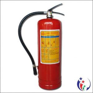 Bình chữa cháy dạng bột khô ABC MFZL8 – 8kg loại xách tay