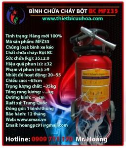 Cung cấp bình chữa cháy chủng loại bột khô BC MFZ 4kg, 8kg, 35kg, bình cứu hỏa khí lạnh CO2 MT 3kg, 5kg giá rẻ phần 7