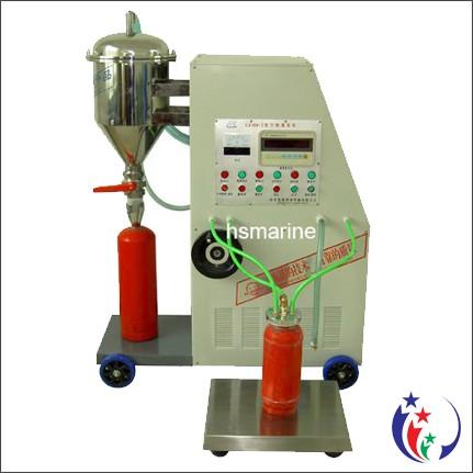 Nạp sạc bảo dưỡng bình chữa cháy bột BC MFZ, khí CO2 MT 2