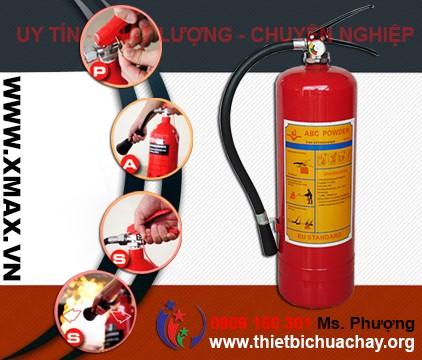 Báo giá năm 2015 - Bình chữa cháy kèm một số thiết bị cứu hỏa phục vụ an toàn pccc trong khu vực TPHCM, Bình Dương 2