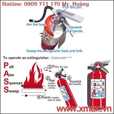 Cung cấp lắp đặt bình chữa cháy và các thiết bị cứu hỏa cho gia đình hay nhà xưởng công ty giá chỉ từ 110.000VNĐ 2