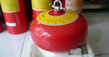 Bán bình cầu chữa cháy tự động các loại cho nhà bếp kho xưởng - Bảng báo giá new 2015