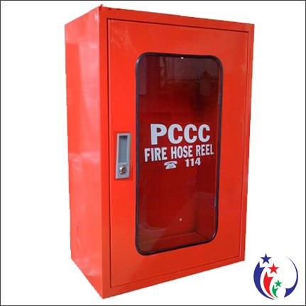 Tủ chữa cháy vách tường ngoài trời 40x60x22