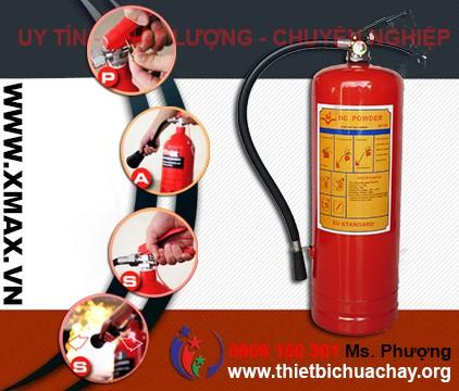 Điểm bán thiết bị chữa cháy, bình cứu hỏa bột khô và khí CO2 giá cả phải chăng mà chất lượng cực tốt tại TPHCM 1