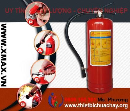 Điểm bán thiết bị chữa cháy, bình cứu hỏa bột khô và khí CO2 giá cả phải chăng mà chất lượng cực tốt tại TPHCM 2