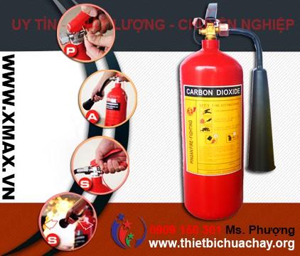 Điểm bán thiết bị chữa cháy, bình cứu hỏa bột khô và khí CO2 giá cả phải chăng mà chất lượng cực tốt tại TPHCM 3