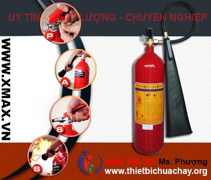 Điểm bán thiết bị chữa cháy, bình cứu hỏa bột khô và khí CO2 giá cả phải chăng mà chất lượng cực tốt tại TPHCM 4